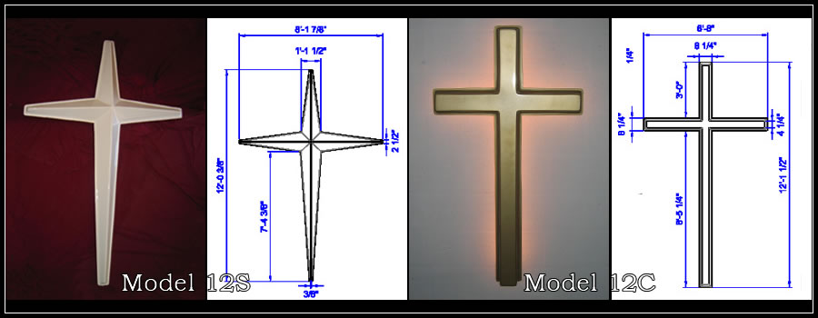 Decorative Crosses for the Wall - Freestanding | Church Wall Crosses ...